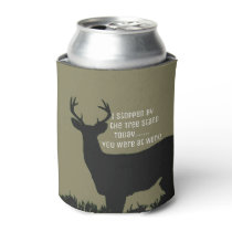 Funny Deer Hunting Beer Cooler