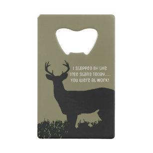 f0360be3fe Funny Deer Hunting Tree Stand Bottle Opener