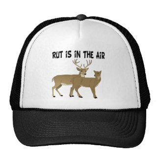 Funny Deer Rut is in the Air Hats