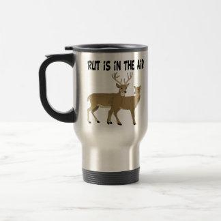 Funny Deer Rut is in the Air Travel Mug