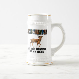 Funny Deer Tremble Beer Stein