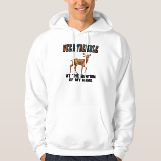 Funny Deer Tremble Hooded Pullovers