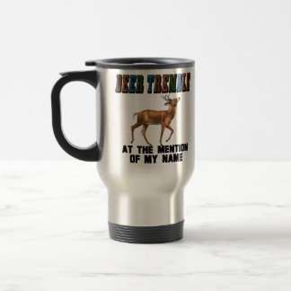 Funny Deer Tremble 15 Oz Stainless Steel Travel Mug