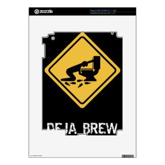 Funny Deja-Brew Skin For iPad 2