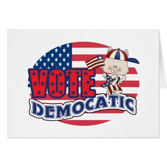 Funny Democrat Presidential Election Card