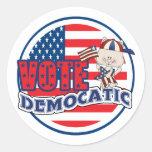 Funny Democrat Presidential Election Stickers