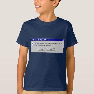 Funny Demoted Pluto Design T-Shirt