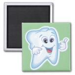 Funny Dental Health Fridge Magnet