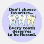 Funny Dental Humor Sticker