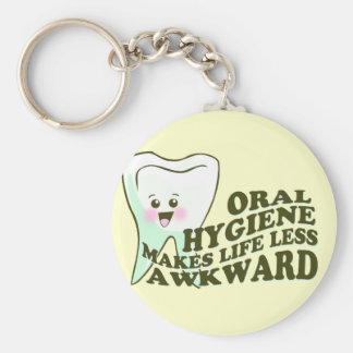 Funny Dental Hygienist Keychains