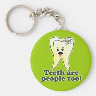 Funny Dental Hygienist Key Chain
