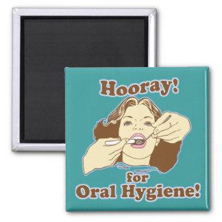 Funny Dental Hygienist Magnet