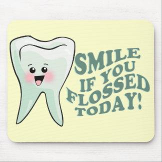 Funny Dental Hygienist Mouse Pad