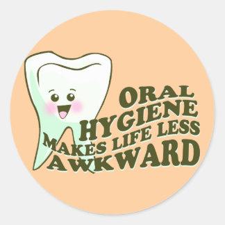 Funny Dental Hygienist Sticker