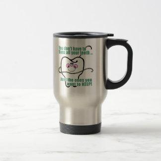 Funny Dental Hygienist Travel Mug