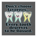 Funny Dental Office Artwork Posters