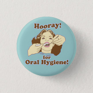 Funny Dental Professional Button