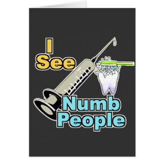 Funny Dental Professional Cards
