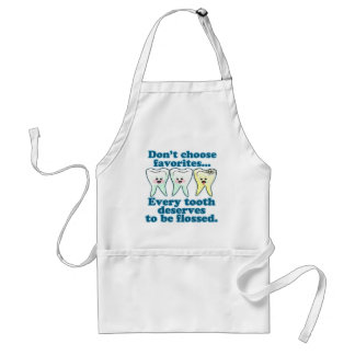 Funny Dentist Adult Apron