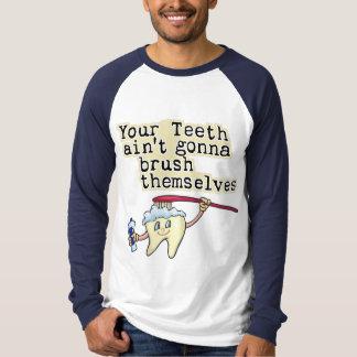 Funny Dentist and Dental Hygienist T-Shirt
