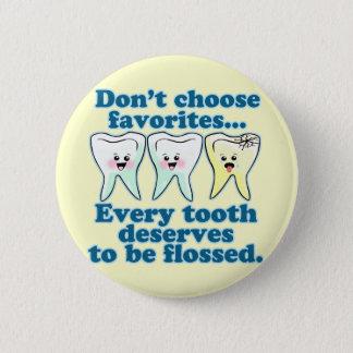 Funny Dentist Button