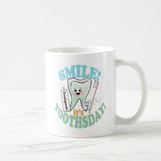 Funny Dentist Dental Hygienist Classic White Coffee Mug