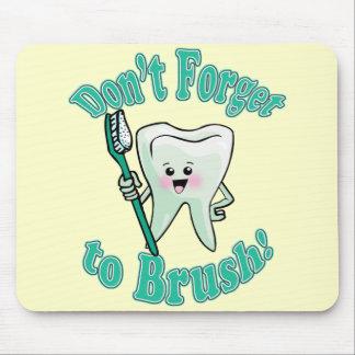 Funny Dentist Dental Hygienist Mouse Pad