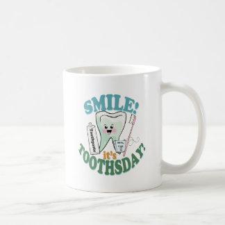 Funny Dentist Dental Hygienist Coffee Mugs