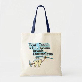 Funny Dentist Dental Hygienist Tote Bag