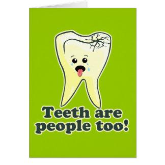 Funny Dentist Humor Card