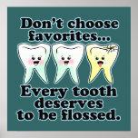 Funny Dentist Hygienist RDH Posters