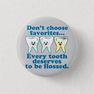 Funny Dentist Pinback Button