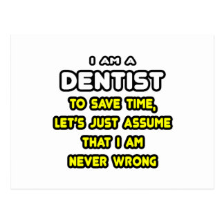 Funny Dentist T-Shirts and Gifts Postcard