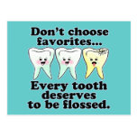 Funny Dentistry Post Cards
