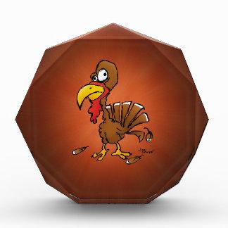Funny Derp Turkey Cartoon Award