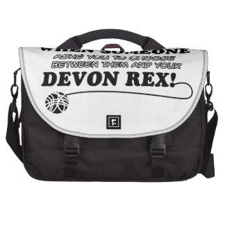 Funny DEVON REX designs Computer Bag