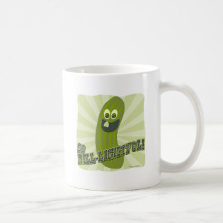 Funny Dill-lightful Pickle Coffee Mug