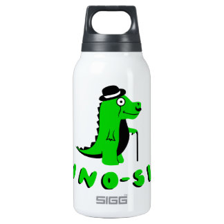 Funny DINO-SIR design Thermos Water Bottle