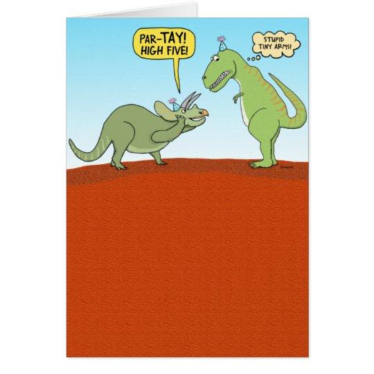 Funny Dinosaur Birthday Card | Zazzle