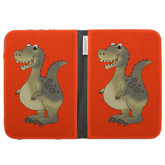 Funny dinosaur kindle case