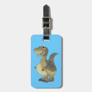 Funny dinosaur tags for luggage