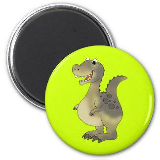 Funny dinosaur magnet