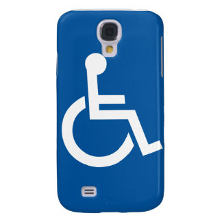 Funny Disabled  Galaxy S4 Cover