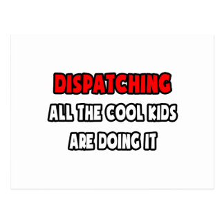 Funny Dispatcher Shirts and Gifts Postcard