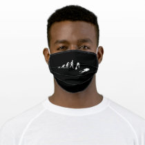Funny Diving Sea Dive Gift for Diver Adult Cloth Face Mask