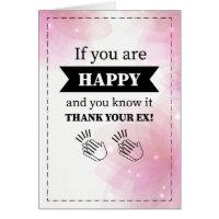 Funny Divorce Card