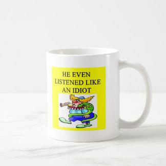 funny divorce joke classic white coffee mug