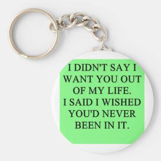 funny divorce joke key chains