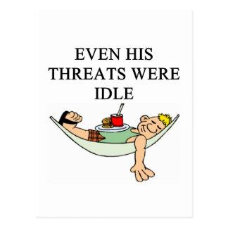 funny divorce joke postcard