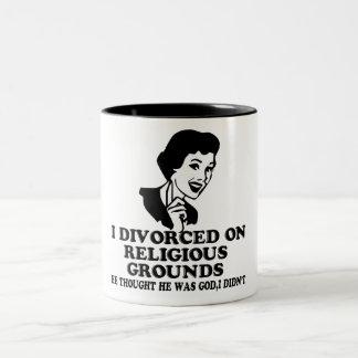 Funny divorce coffee mugs